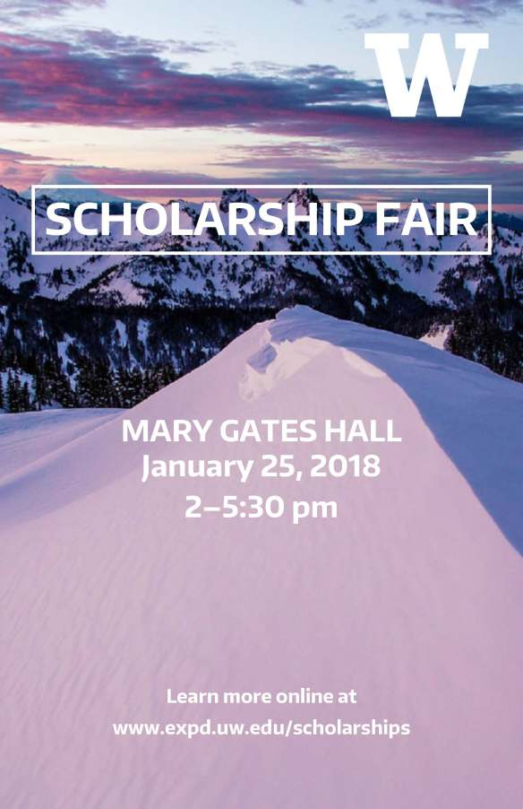 Scholarship Fair - WIN 2018