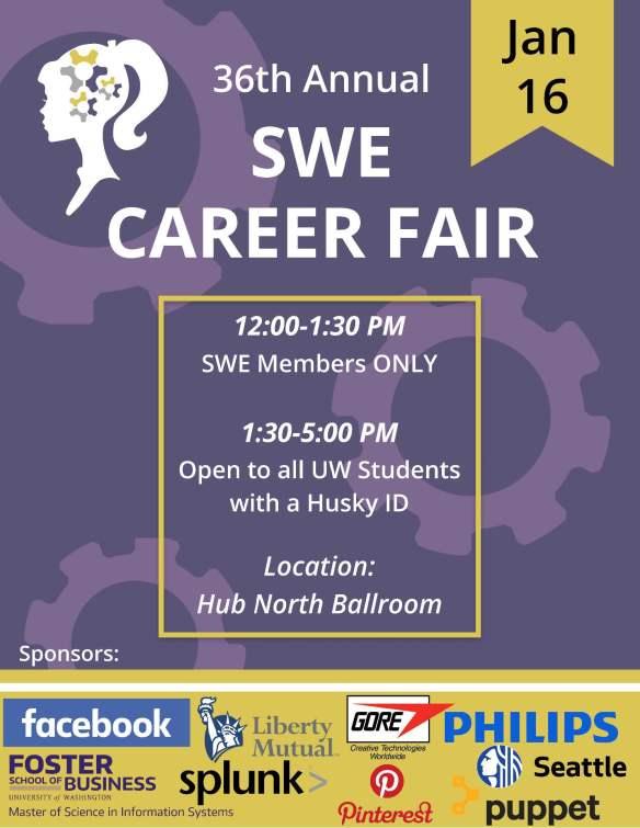 SWE career fair WIN 2018