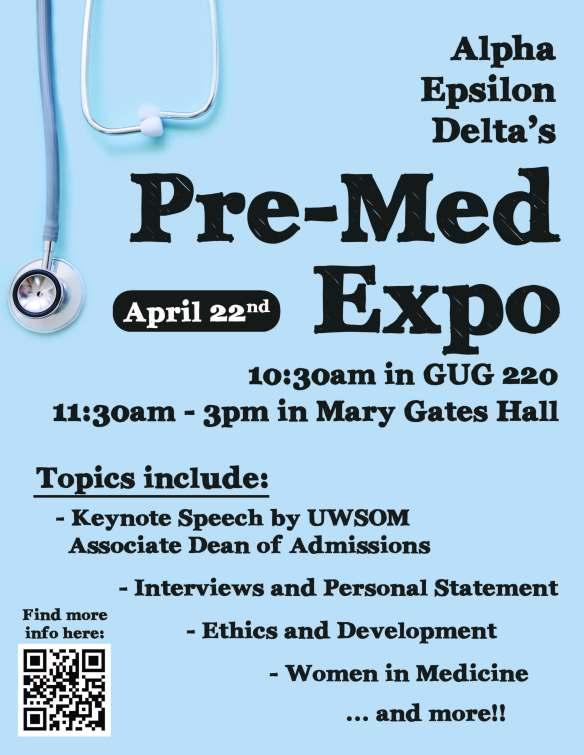 Pre-Med Expo Flyer
