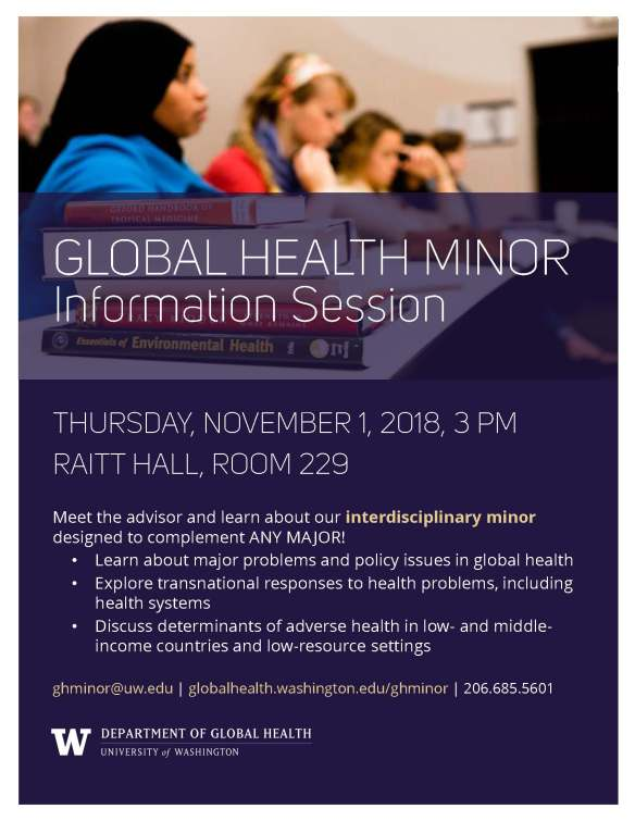 Global Health Minor Information Sessions_2018-11-01