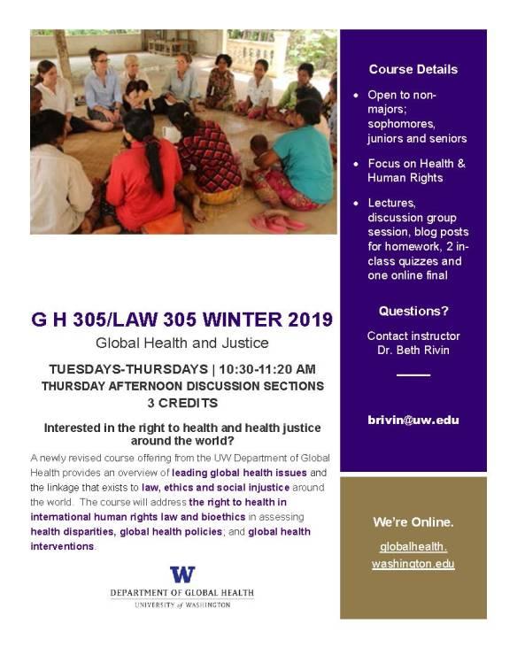 2019 GH 305 Course Flyer_